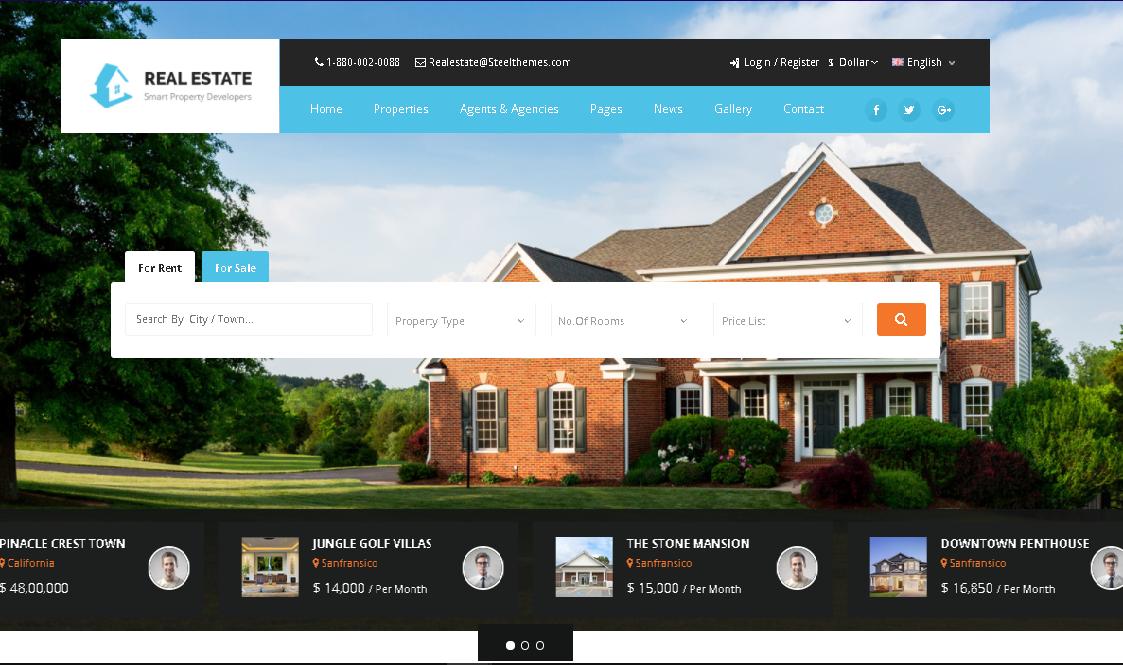 jasa pembuatan web properti