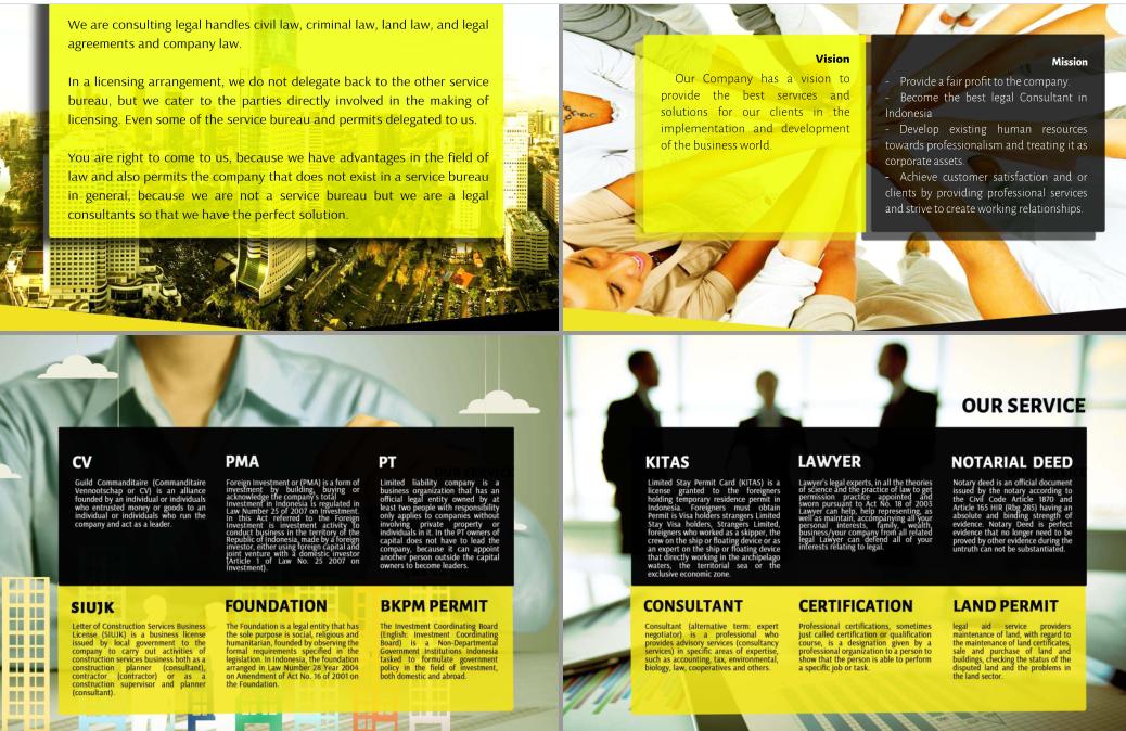 jasa design company profile