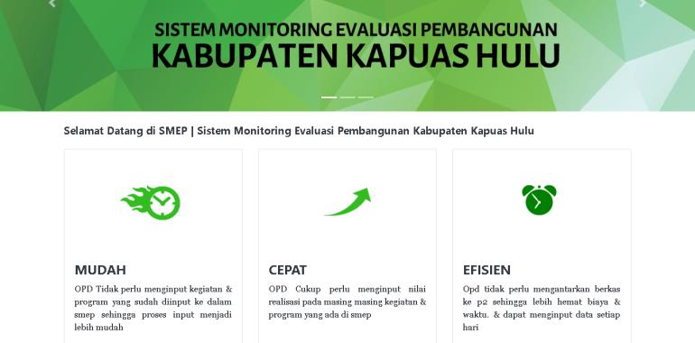 Pengembangan Sistem Monitoring Anggaran Realisasi fisik & kegiatan