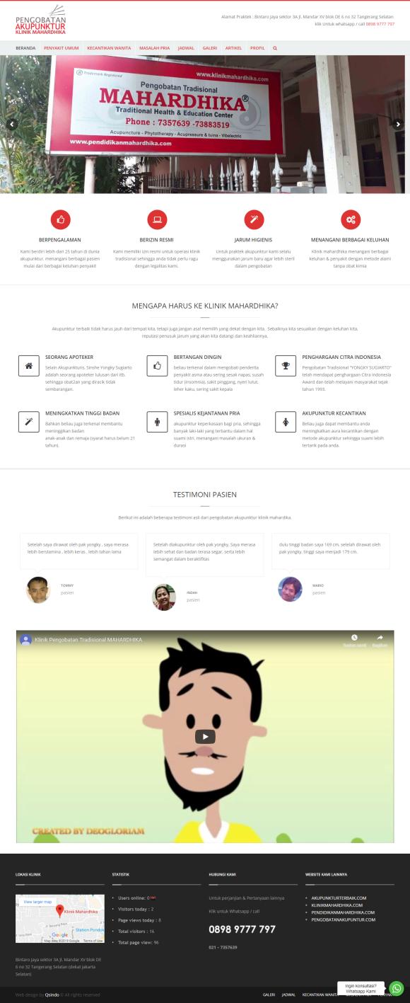 Website pengobatan akupunktur